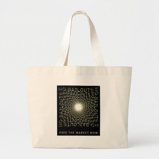 Free The Market Now Canvas Bag