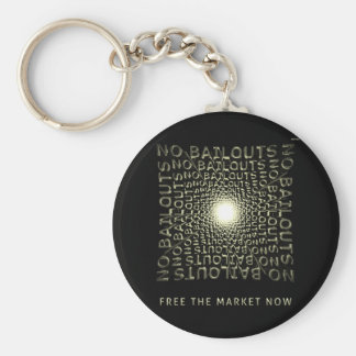 Free The Market Now Key Chains
