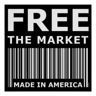 Free The Market Poster