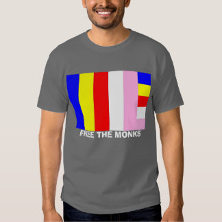 FREE THE MONKS T SHIRT