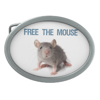 Free the Mouse Belt Buckle