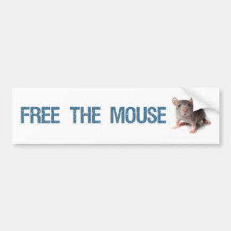 Free the Mouse Bumper Sticker