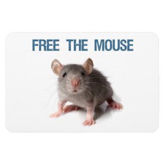 Free The Mouse Magnet
