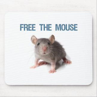 Free the Mouse Mouse Pad