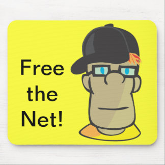 Free the Net! Mouse Pad