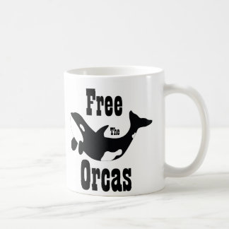 Free The Orcas Coffee Mug