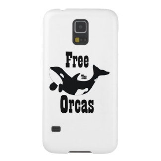 Free The Orcas Galaxy S5 Case