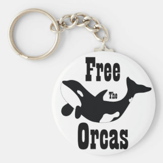 Free The Orcas Keychains