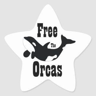 Free The Orcas Sticker