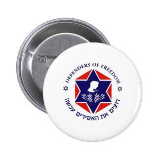 Free The Prisoners Light Pinback Button