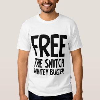 Free The Snitch Whitey Bulger Tee Shirt