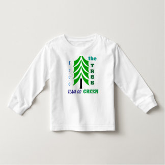 Free the tree eco friendly kiddies tshirt