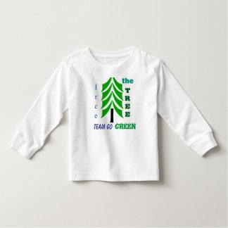 Free the tree eco friendly kiddies tshirt