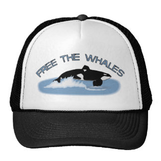 Free The Whales - Free Tilly Trucker Hat