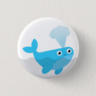 Free The Whales Pinback Button