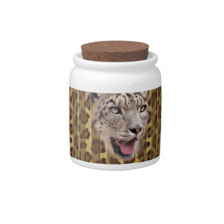 Free The Wild Leopard Spirit Multi products Gifts Candy Dish