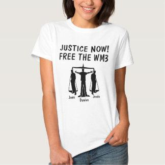 Free the WM3 Tee Shirts
