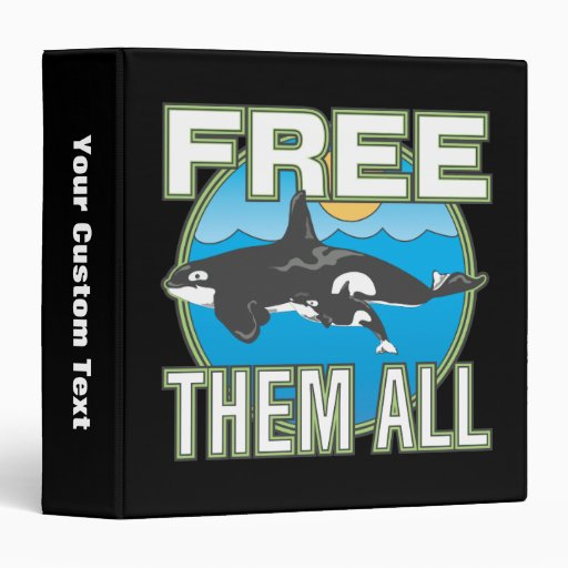 Free Them All (Whales) Binders