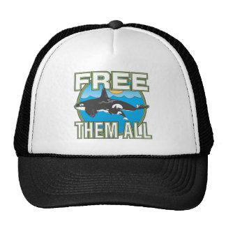 Free Them All (Whales) Hat