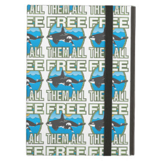 Free Them All Whales iPad Air Covers