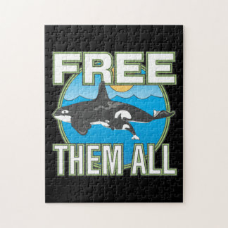 Free Them All (Whales) Jigsaw Puzzles