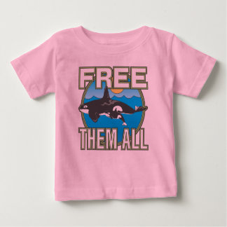 Free Them All (Whales) Tee Shirt