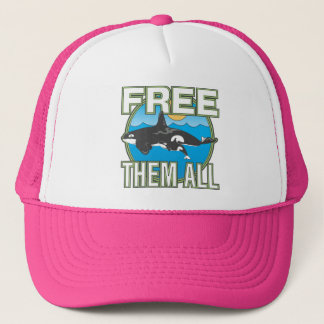 Free Them All (Whales) Trucker Hat