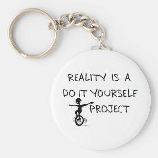 Free Thinker Basic Round Button Keychain