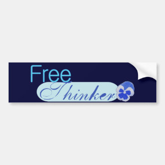 Free Thinker Bumper Stickers