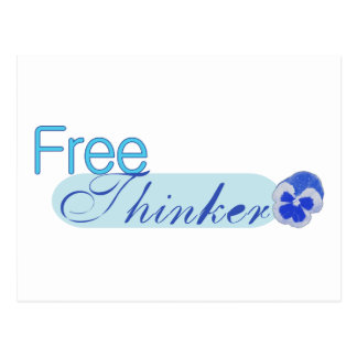 Free Thinker Postcard