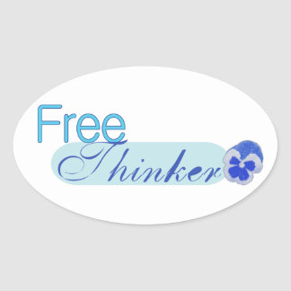 Free Thinker Stickers