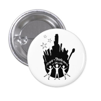 Free-Thinkers of Dallas Pinback Buttons
