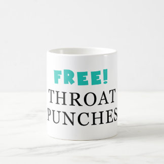 Free Throat Punches - Mug