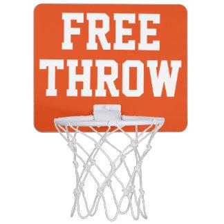 Free Throw Mini Basketball Backboard