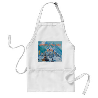 Free Tibet apron