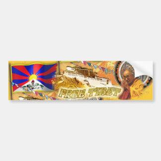 Free Tibet Car Bumper Sticker