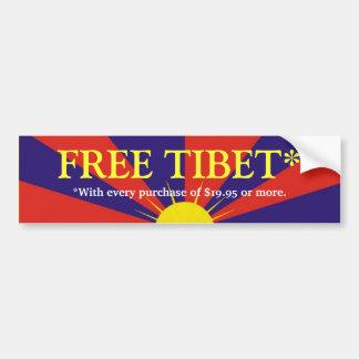 FREE TIBET* BUMPER STICKERS
