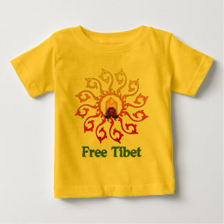 Free Tibet Candle Baby T-Shirt