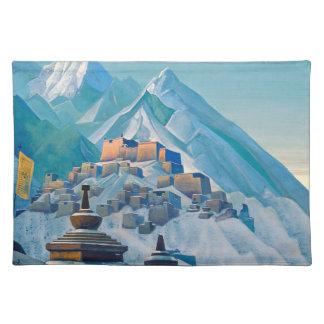 Free Tibet cloth placemat