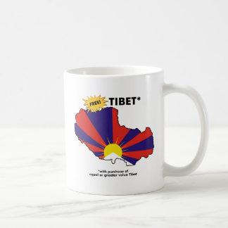 Free Tibet* Coffee Mug