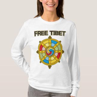 Free Tibet Dharmacakra T-Shirt