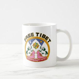 Free Tibet Emblem Coffee Mug