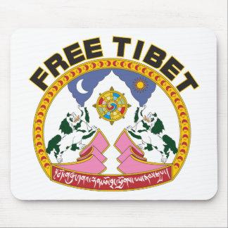 Free Tibet Emblem Mousepads