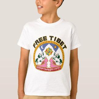 Free Tibet Emblem T-Shirt