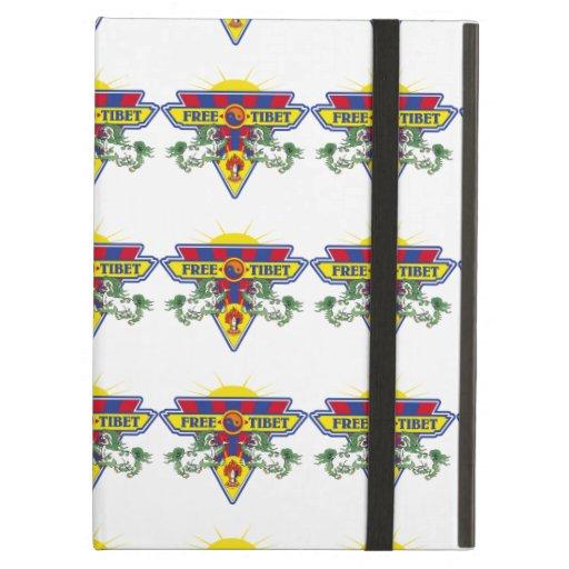 Free Tibet Flag Logo iPad Air Cover