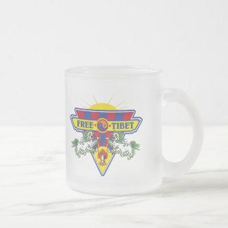 Free Tibet Flag Logo Mug