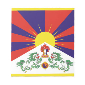 Free Tibet Flag Notepad