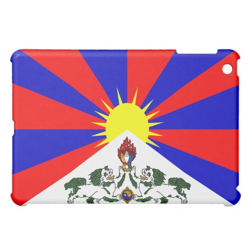 Free Tibet Flag - Tibetan Flag -  iPad Mini Case