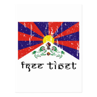 Free Tibet Gifts Postcard