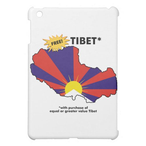 Free Tibet* iPad Mini Case
